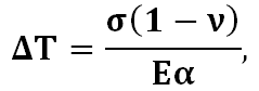 Thermal resistance equation